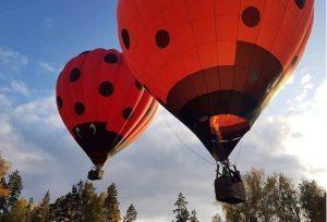Lidojums ar gaisa balonu 2 personas