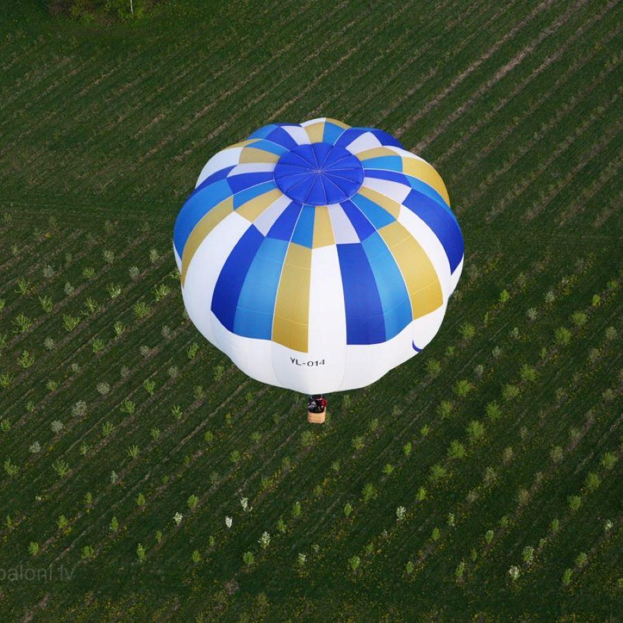 Lidojums ar gaisa balonu diviem