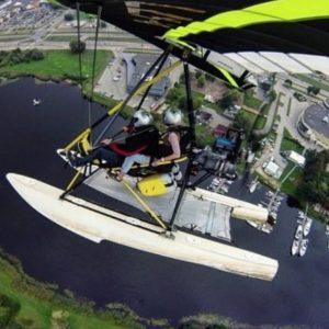 lidojums ar deltaplānu