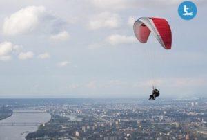 lidojums ar paraplānu