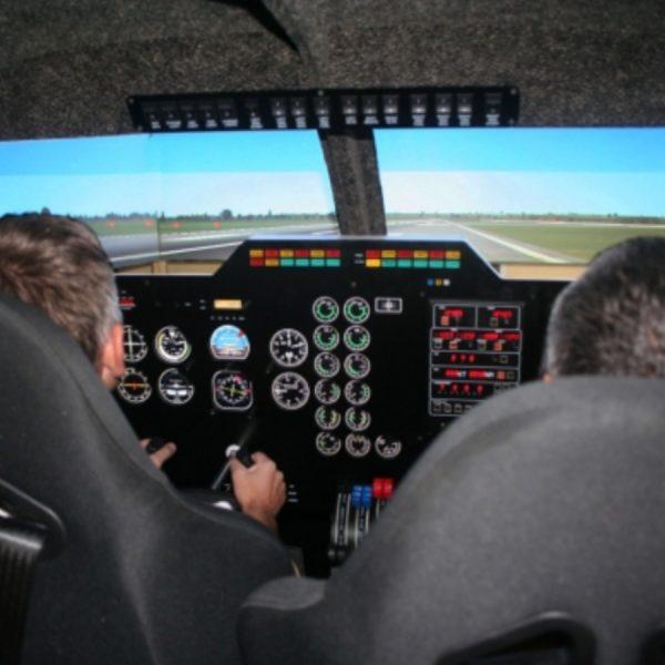 lidojums simulatorā
