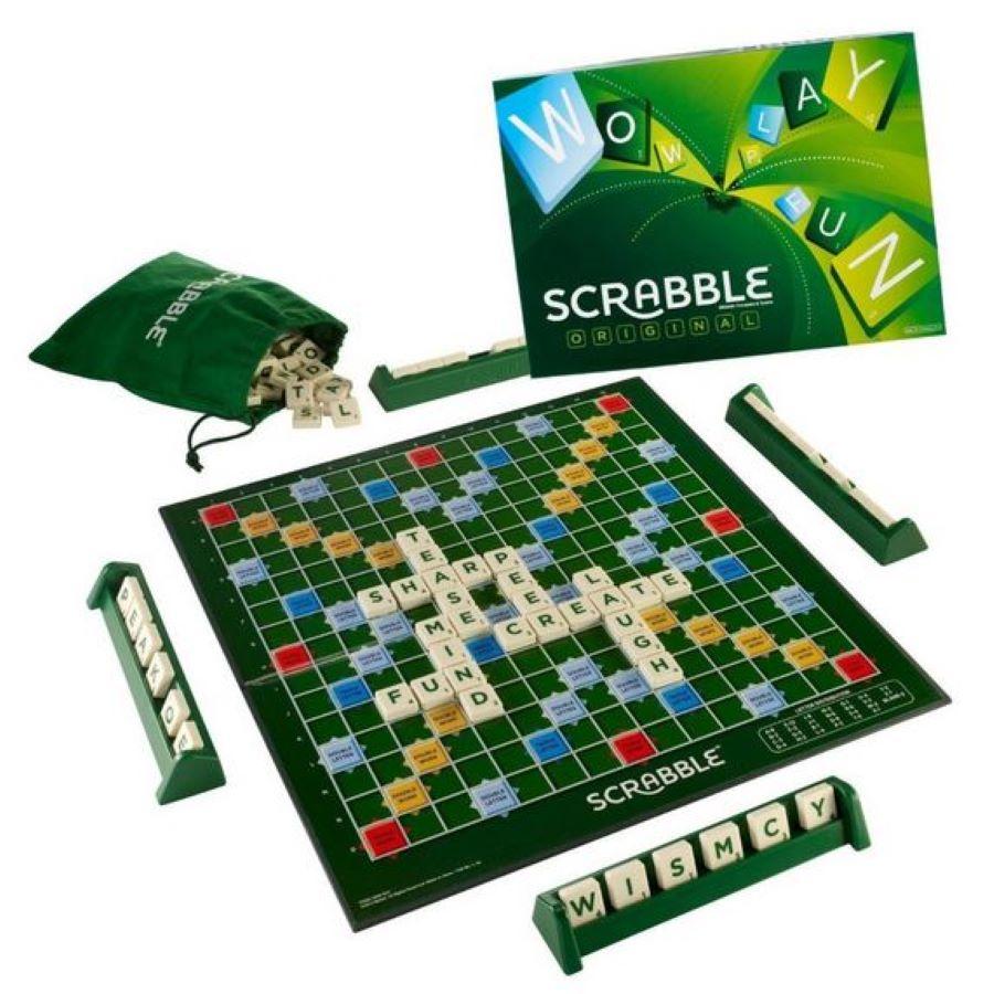 Scrabble galda spēle